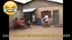 Short Comedy Video - Gala Seller Impersonate As Banker